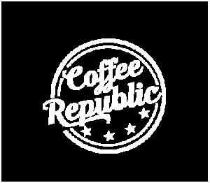 Coffee Republic, Coffee Rockville, MD, Logo