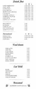 Coffee Rockville CateringMenu, Rockville, MD